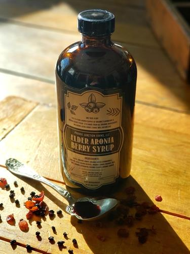 Elder Aronia Berry Syrup