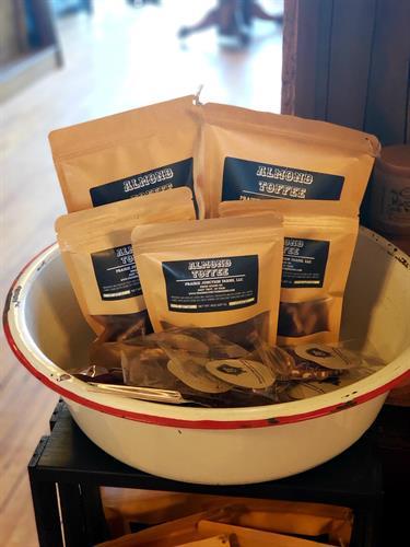 Almond Toffee-1lb bag, 1/2lb bag