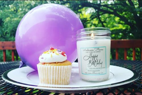 Happy Birthday (Cake) Soy Candle