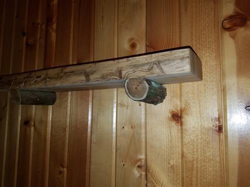 Live edge cedar shelf (sold)