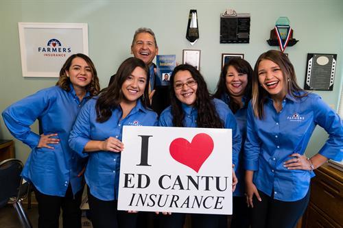I Love Ed Cantu Insurance