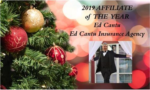 Ed Cantu, 2019 Corpus Christi Realtor Association Affiliate of The Year