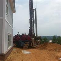 Drilling for a Vertical Pipe Installation