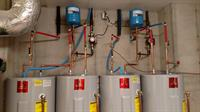 Water Heaters connected to De-superheater on Geothermal System
