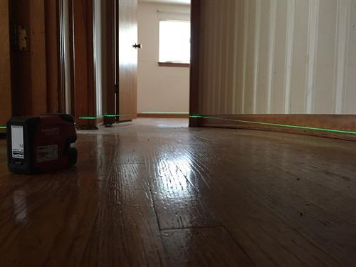 ...uneven floors?