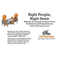 WEBINAR - Right People, Right Seats