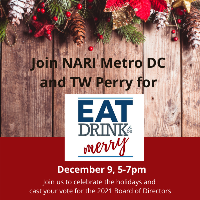 "Virtual Eat, Drink & Be ""Merry""  hosted by TW Perry"
