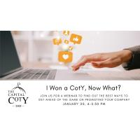 I Won a CotY...Now What? - Educational Networking
