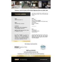 Kohler Signature Store by GROF - Training + Lunch & Learn VA