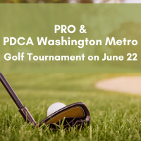 PRO/PDCA Golf Tournament...registration is waiting for you!