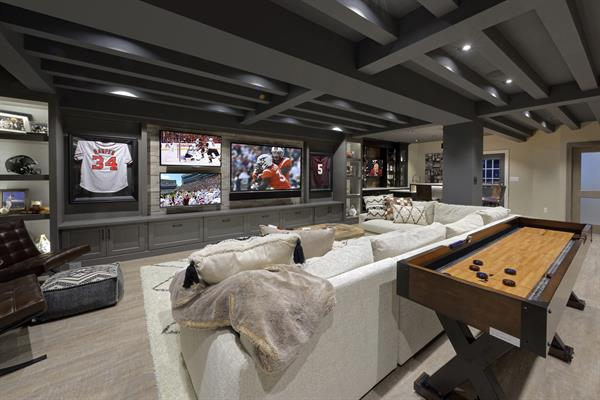 National CotY Winning Basement Remodel