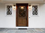 Make an entrance.  Lighting consultant: Giorgina Schnurr