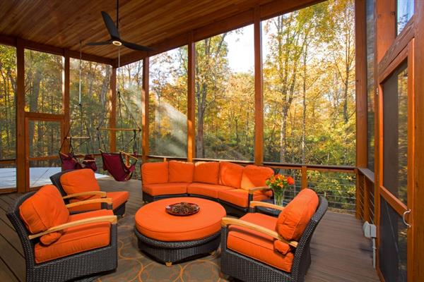 Screened Porch Addition - Interior