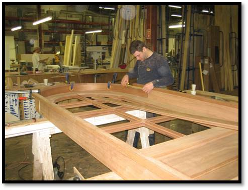 Designs and manufactures high-quality millwork including custom entrances, mouldings, mantels and distinctive architectural features