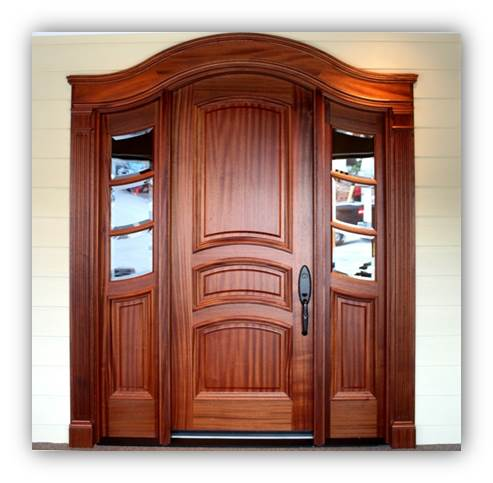 Custom Doors, Custom Mouldings,  Pergolas, PVC Features, Built-ins by the foot