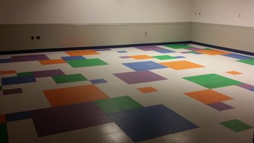 Fed Ex Distribution Center Game room