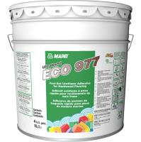 Ultrabond ECO 977 fast-set adhesive over high-moisture concrete