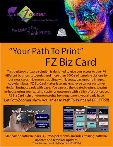 FZ Biz Card