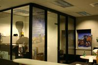 Interior Window Treatment - one way vu-thru