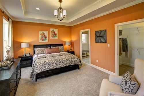 Jefferson master bedroom
