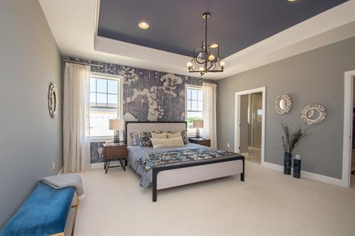 Middleton master bedroom