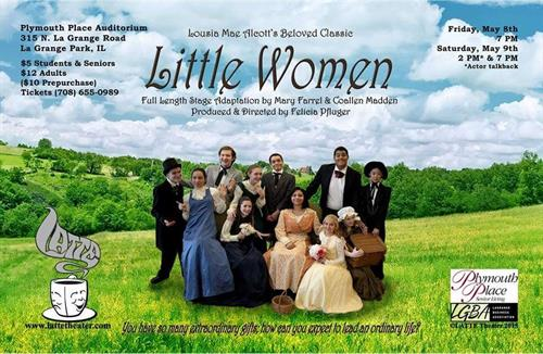 Little Women - LATTE Theater ©, Director - Felicia Pfluger
