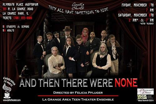 And Then There Were None - LATTE Theater ©, Director - Felicia Pfluger