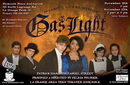Gas Light - LATTE Theater ©, Director - Felicia Pfluger
