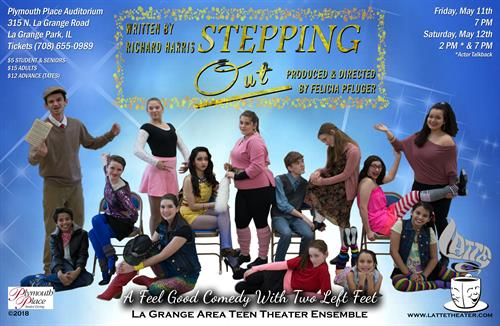 Stepping Out - LATTE Theater ©,Directed by Felicia Pfluger