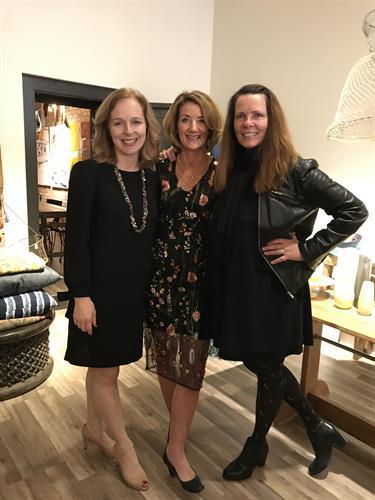 3 of La Grange Top 10 Brokers, 2017: Cathy Bier, Shannon Kutchek, Helen LaLonde