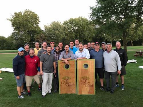 Bag Players at Annual Golf/Bags Outing each Fall