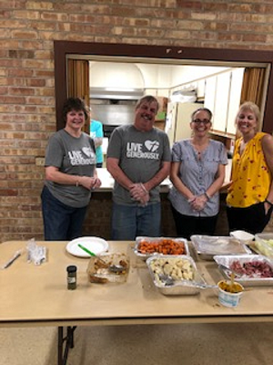 Summer dinner program at Palos United Methodist Church