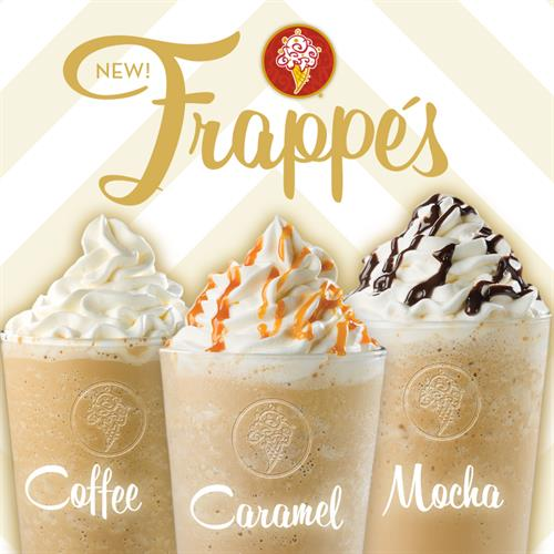 Frozen, Coffee-Blended Frappes