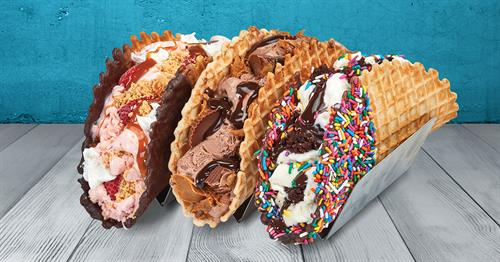 Now Serving Ice Cream Tacos!