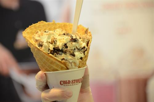 Oreo Overload™ Signature Creation, in a Plain Waffle Cone