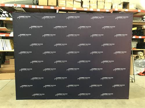 Step and Repeat Photo Backdrop