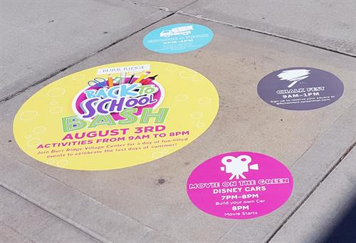 Sidewalk and Floor Graphics