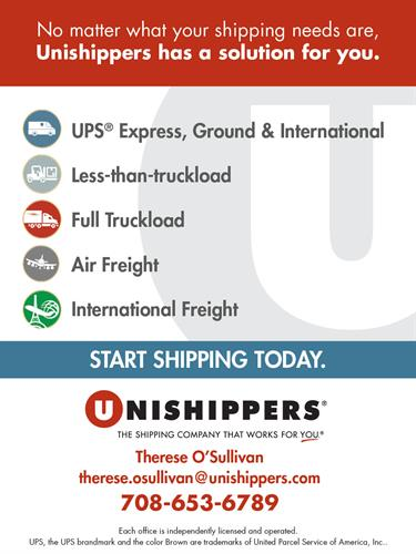 Whether you ship letters overnight, packages from your online store, or move large pieces of equipment, Unishippers CHDN can help!
