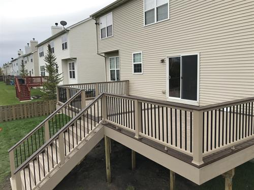 Trex Deck- Trex Transcend decking and Transcend Railing