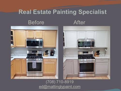 Painting Kitchen cabinets is the most economical way to upgrade your property