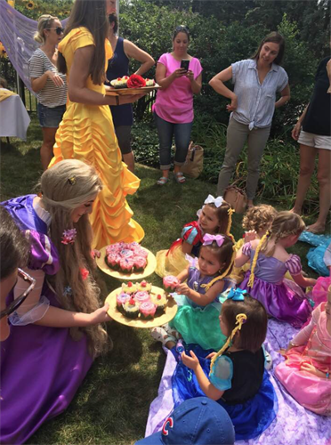 Princess Parties with lots of princesses!