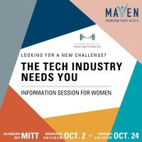 Start a Career in Tech: October 24 Information Session