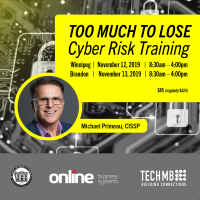 Cyber Risk Training: Winnipeg: November 12, 2019