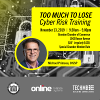 Cyber Risk Training: Brandon: November 13, 2019