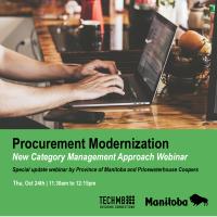 Webinar: Procurement Modernization – New Category Management Approach