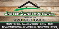 Jaster Construction, LLC