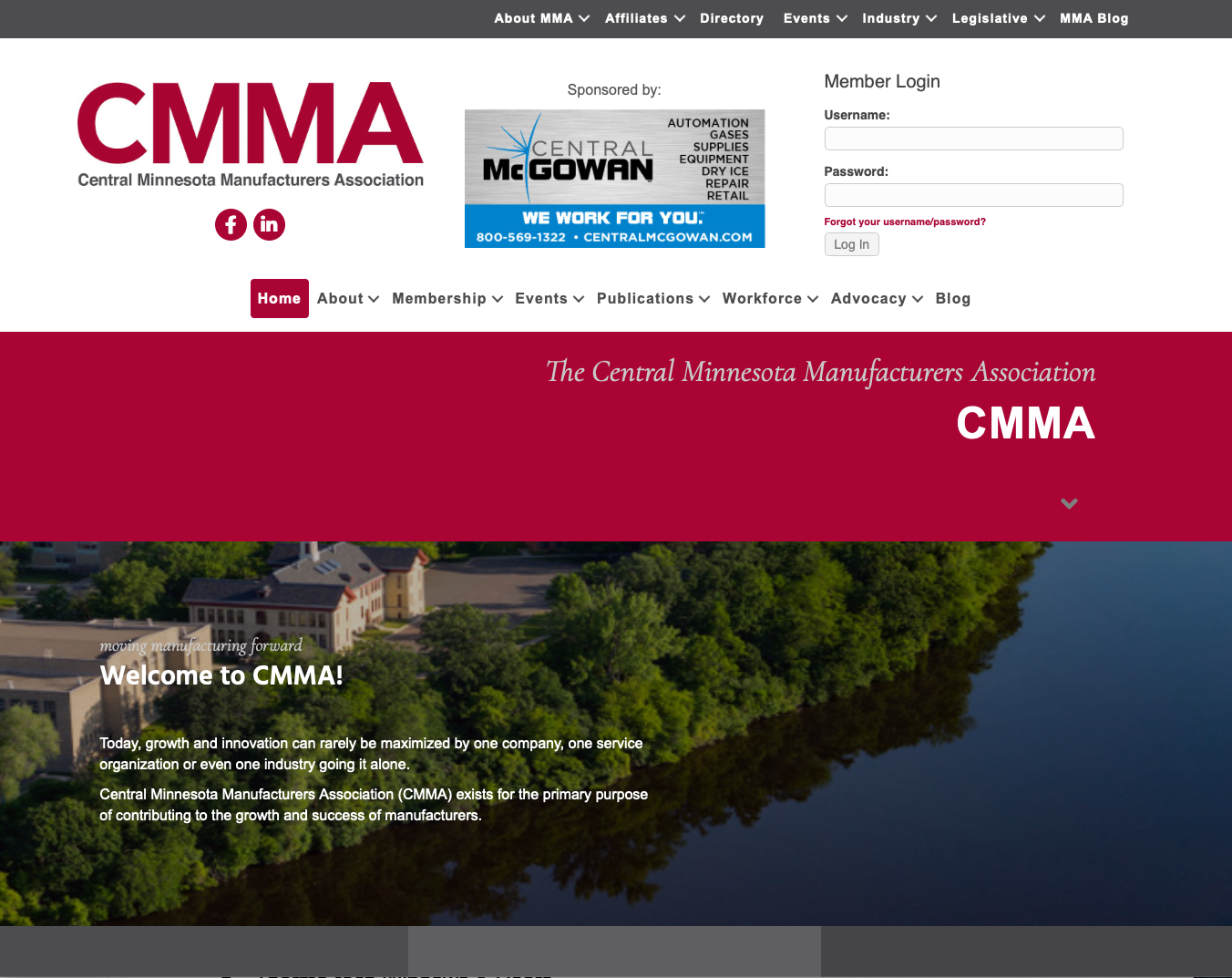 Image for New CMMA website launched on January 1
