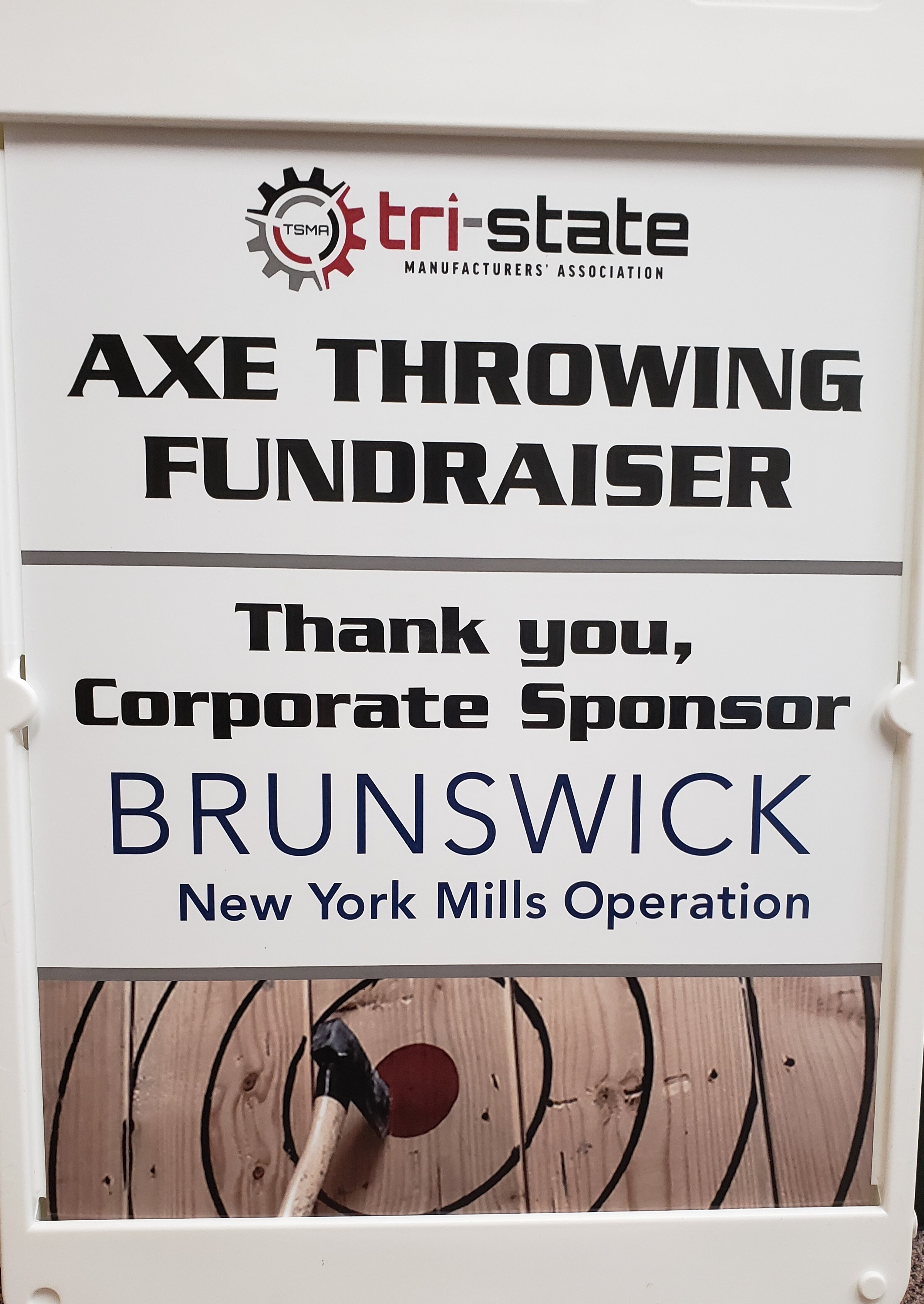 Image for Axe Throwing was a Success!
