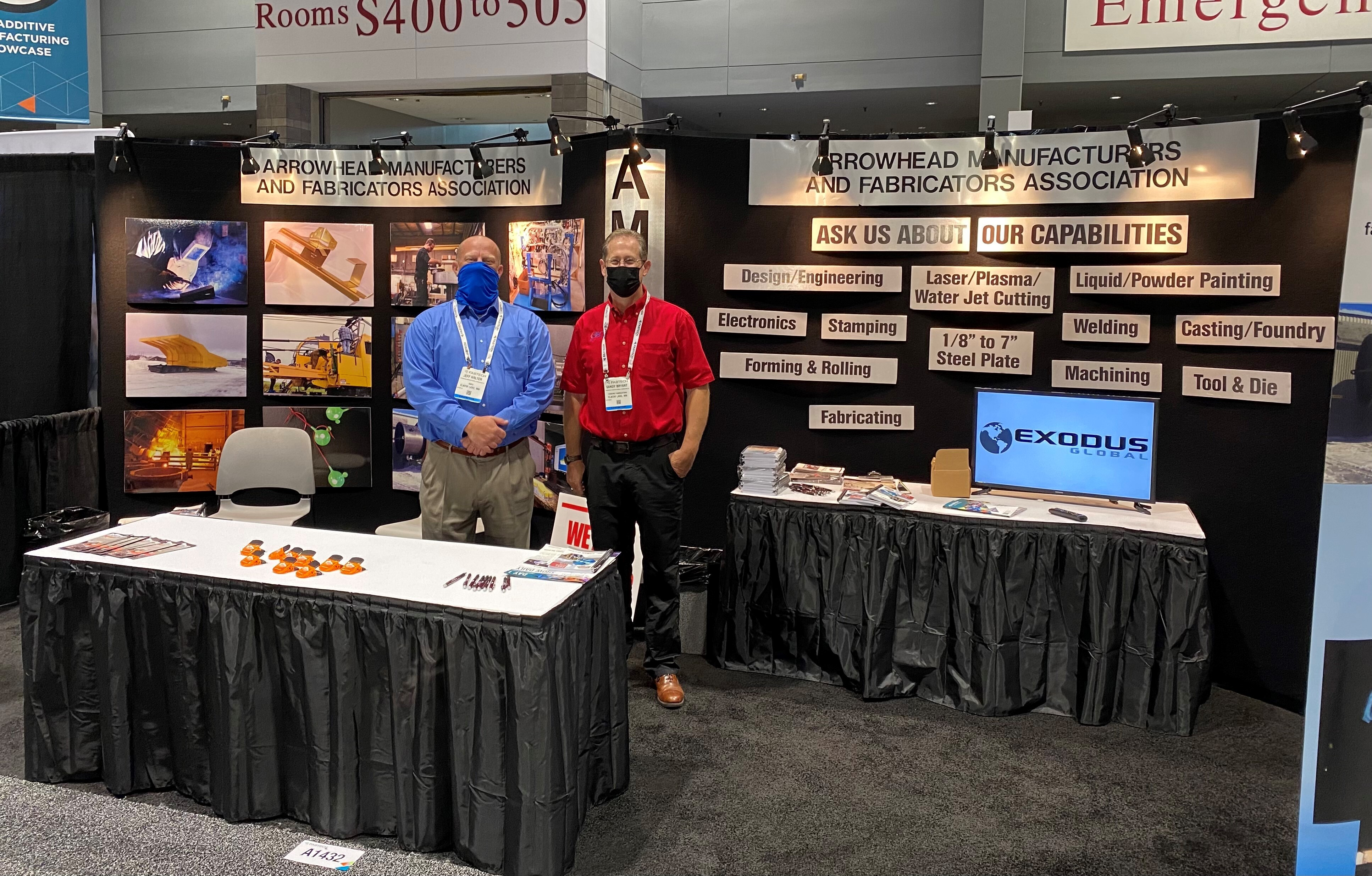 Image for AMFA and Dept of IRRR host exhibit booth at FABTECH 2021 in Chicago