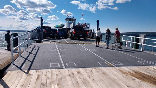 Ferry Ramp 30' x 30'